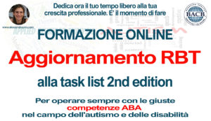 Certificazione RBT – Upgrade to 2nd edition task list